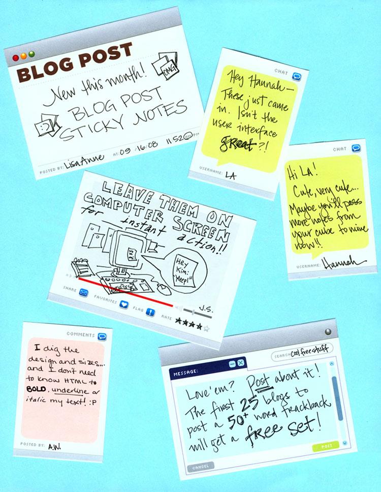 Blogpoststickynotes